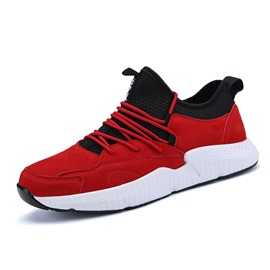 Ericdress Plain Low-Cut Round Toe Patchwork Men's Athletic Shoes