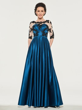 Ericdress Half Sleeves A-Line Mother of the Bride Dress