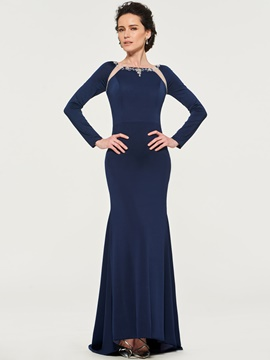 Ericdress Long Sleeves Spandex Mother of the Bride Dress