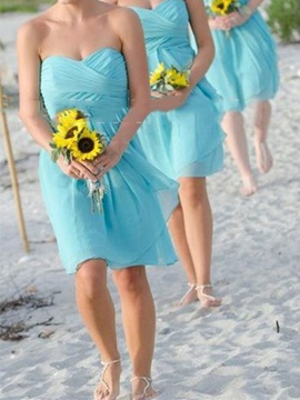 Ericdress Sweetheart A Line Beach Bridesmaid Dress