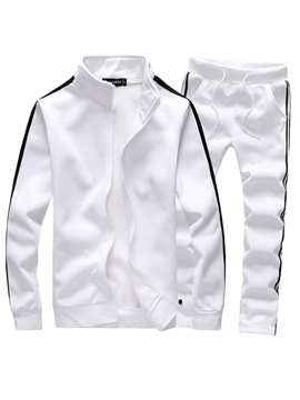 Ericdress Plain Jacket Fall Men's Outfit