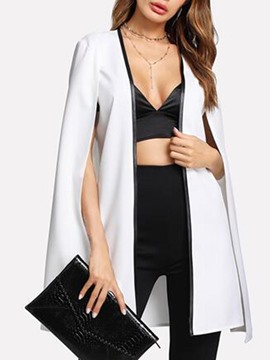 Ericdress Plain Mid-Length Wrapped Blazer