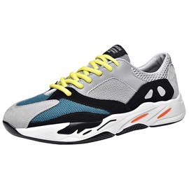 Ericdress Trendy Color Block Patchwork Men's Athletic Shoes