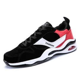 Ericdress Trendy Color Block Round Toe Men's Sneakers