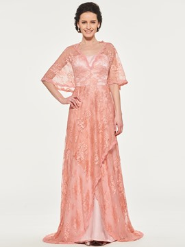 Ericdress A-Line Lace Mother of the Bride Dress