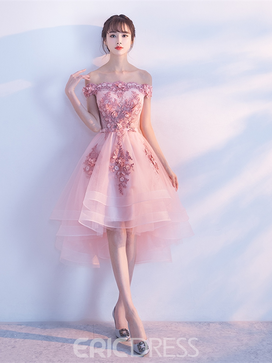 Ericdress A-Line Appliques Beadings Lace Homecoming Dress