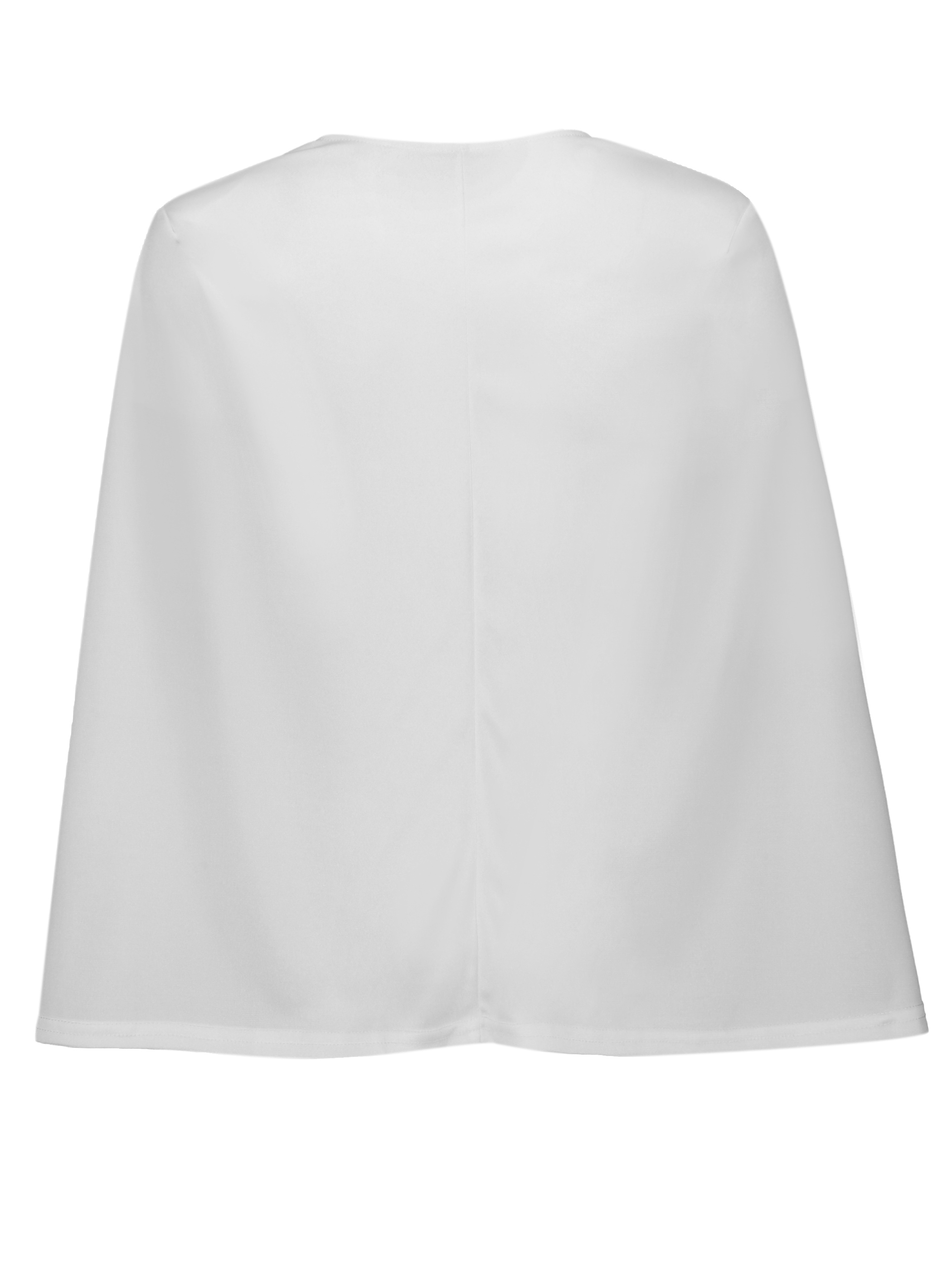 Ericdress Slim Plain Cape Blazer