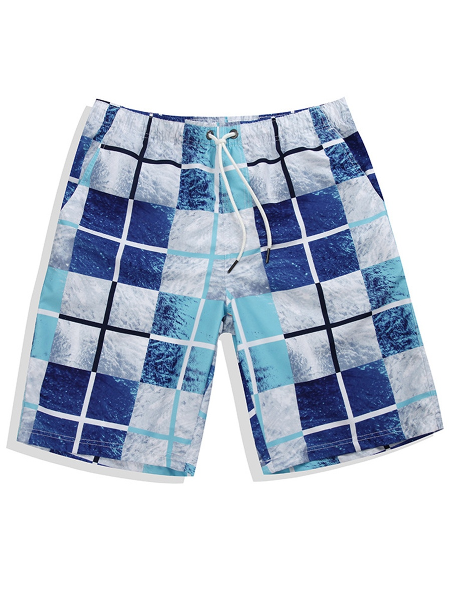 Ericdress Straight Korean Mens Beach Shorts