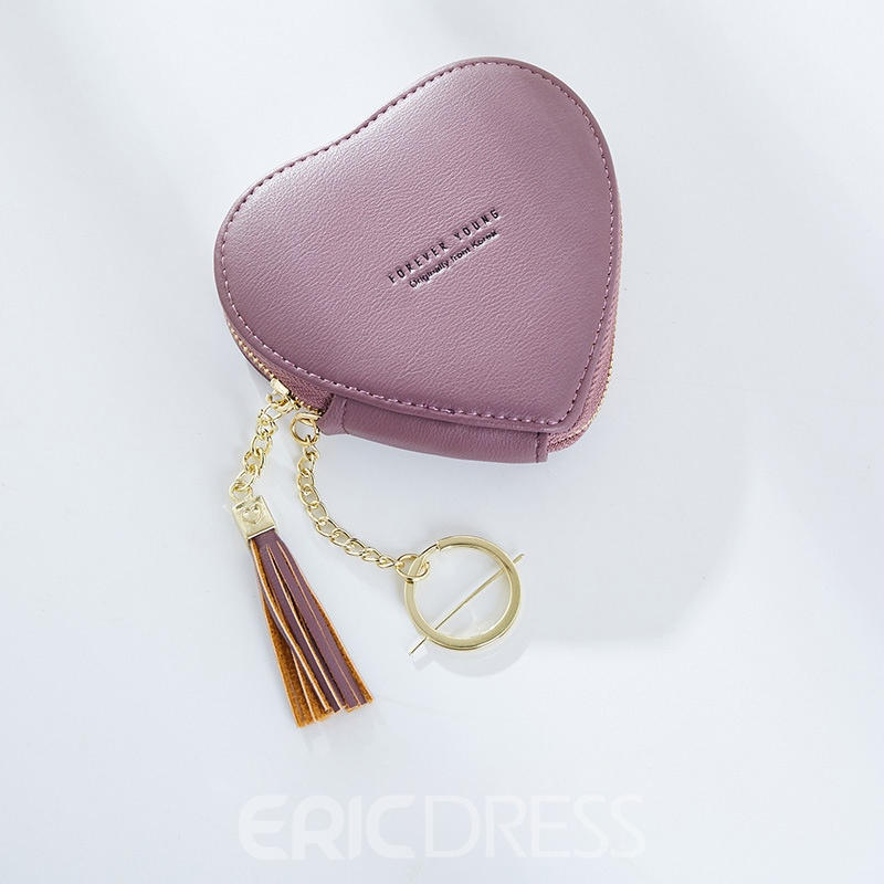 Ericdress Korean Style Heart-Shaped Women Wallet