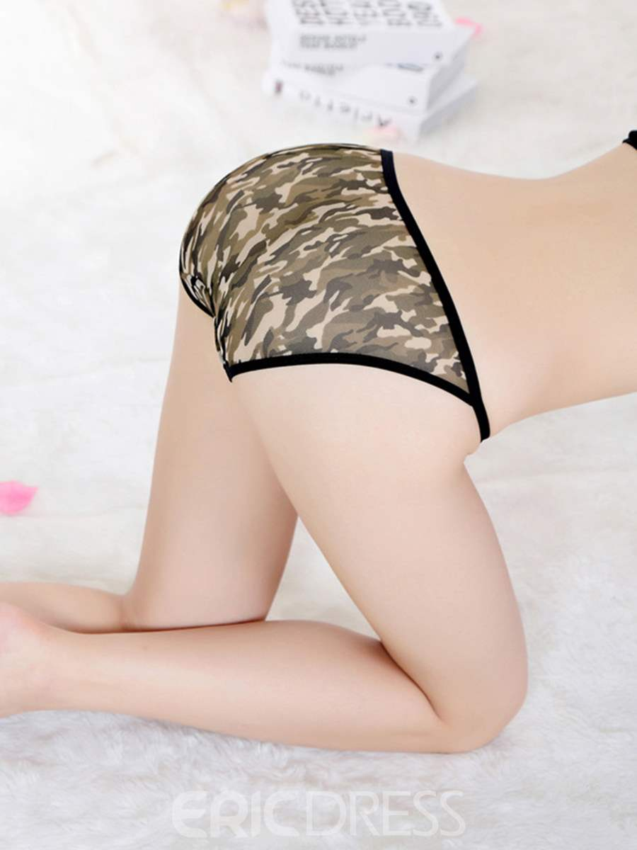Ericdress See-Through Bowknot Sexy Panty