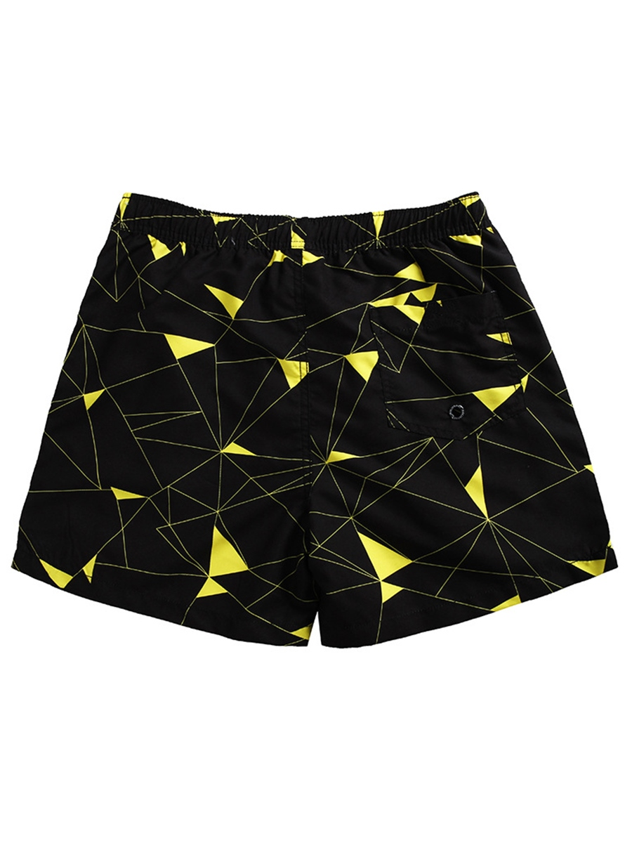Ericdress Mens Straight Beach Shorts