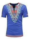 Ericdress Dashiki Ethnic Print Men's Short Sleeve T Shirt