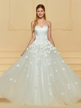 Ericdress Sweetheart A Line Tulle Wedding Dress
