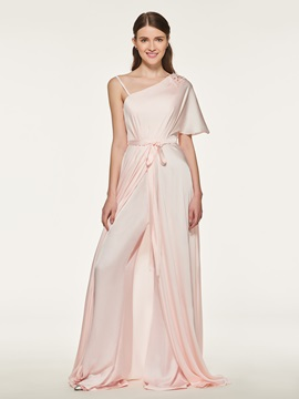 Ericdress One Shoulder Bridesmaid jumpsuit