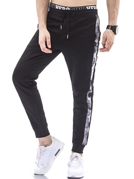 Ericdress Men's Side Stripe Loose Pencil Sports Pants