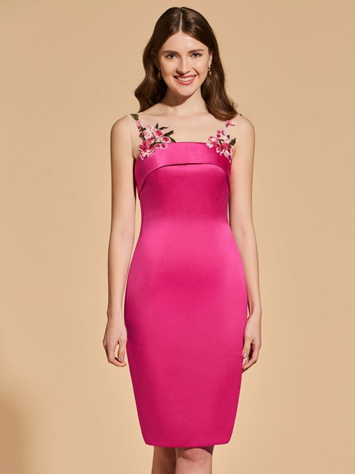 Ericdress Short Sheath Scoop Neck Bodycon Homecoming Dress