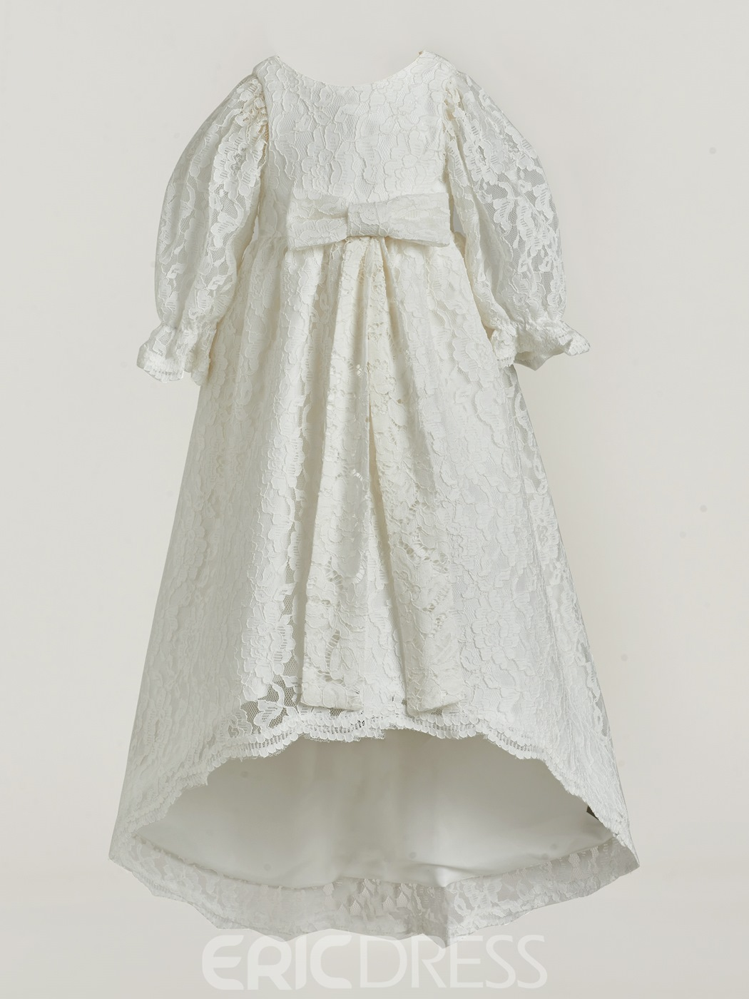 Ericdress High Quality Baby Girl's Lace Christening Gown