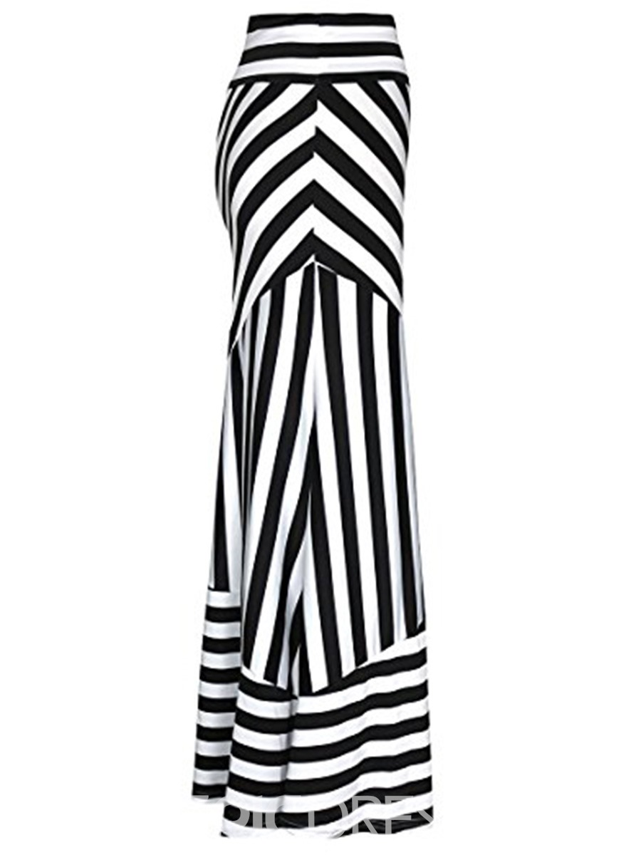Ericdress Stripe Bodycon Women's Skirt