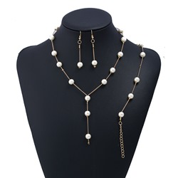 Ericdress OL Style Imitation Pearl Womens Necklace