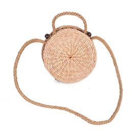 Ericdress Vintage Circular Shape Knitted Cross Body Bag