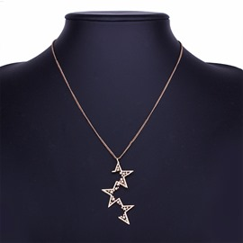 Ericdress All Match Star Pendant Necklace for Women