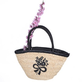 Ericdress Handmade Embroidery Knitted Shoulder Bag