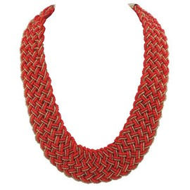 Ericdress Candy Color Beads Bohemia Style Necklace