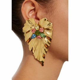 Ericdress Creative Rhinestone Women's Earring