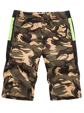 Ericdress Camouflage Men's Cotton Shorts