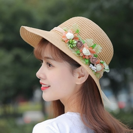 Ericdress Sweet British Style Sunhat for Women
