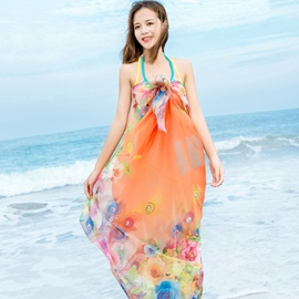 Ericdress Chiffon Beach Scarf for Women
