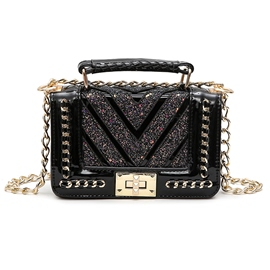 Ericdress Stylish Chain Adornment Women Crossbody Bag