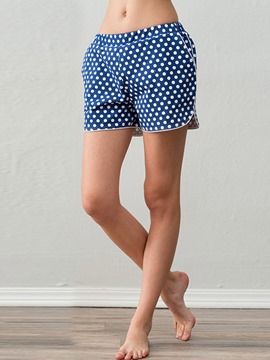Ericdress Polka Dots Cotton Summer Sleep Bottom