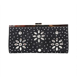 Ericdress Rhinestone PU Women Clutch