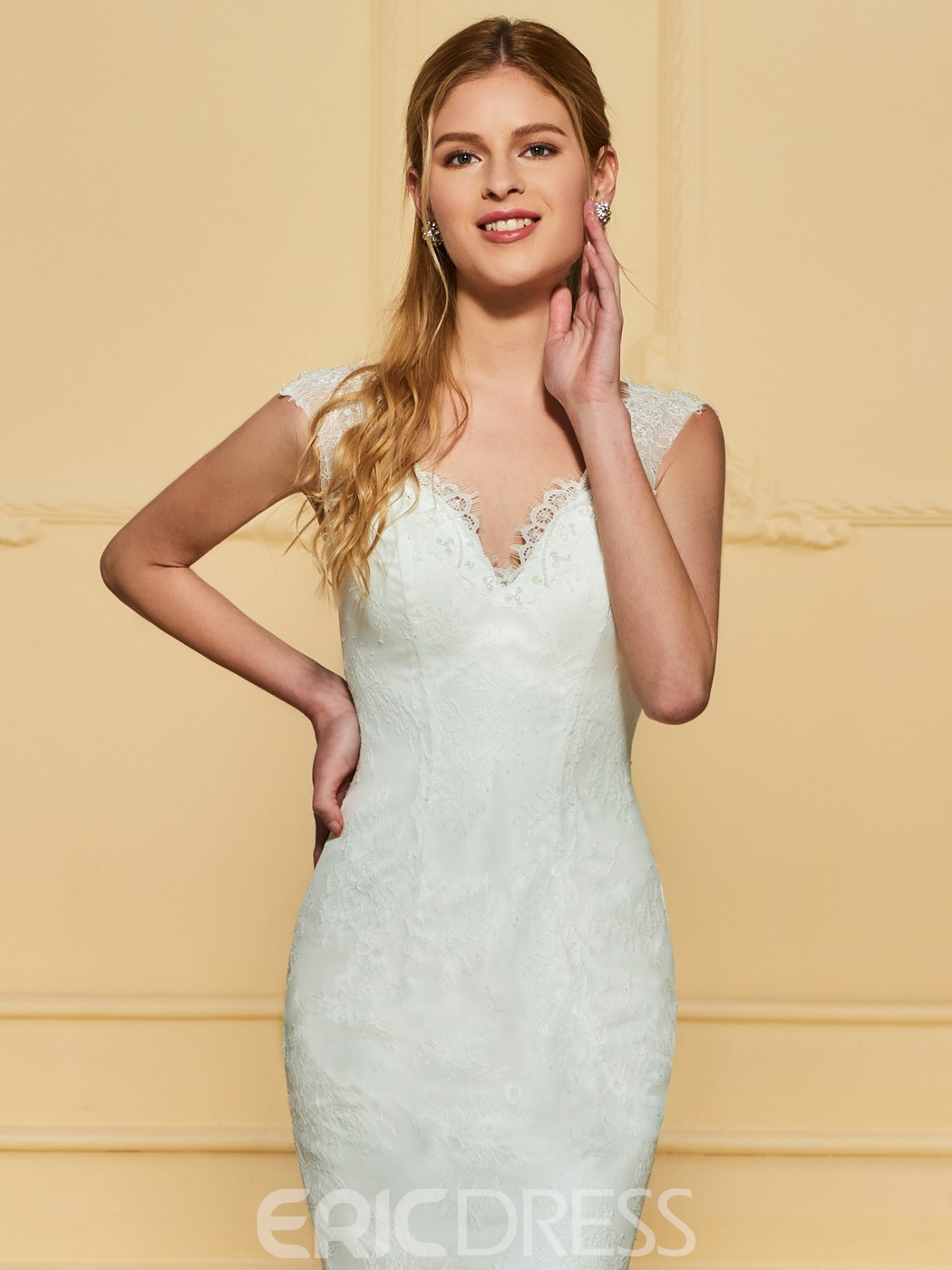 Ericdress Lace Mermaid Wedding Dress