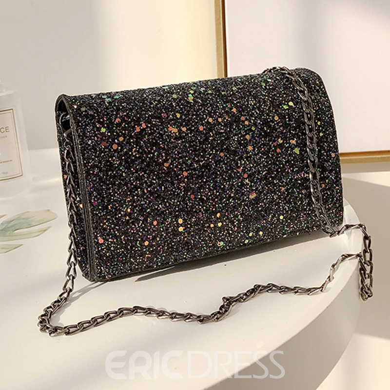 Ericdress Sequins Gradient Design Crossbody Bag