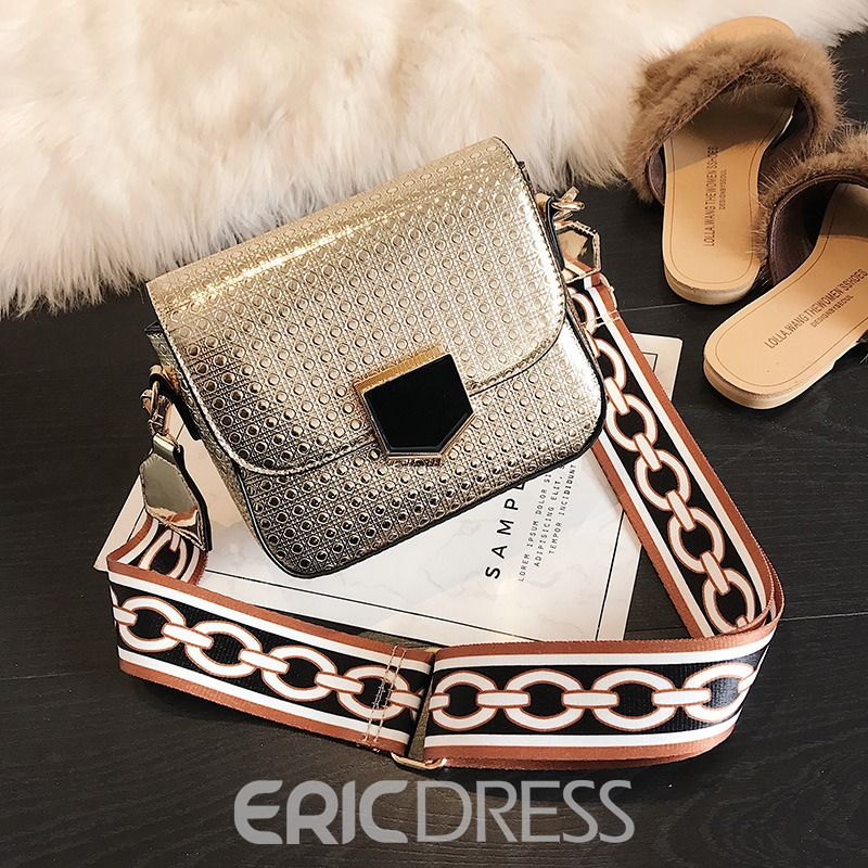 Ericdress Wide Strap Mini Shoulder Bag