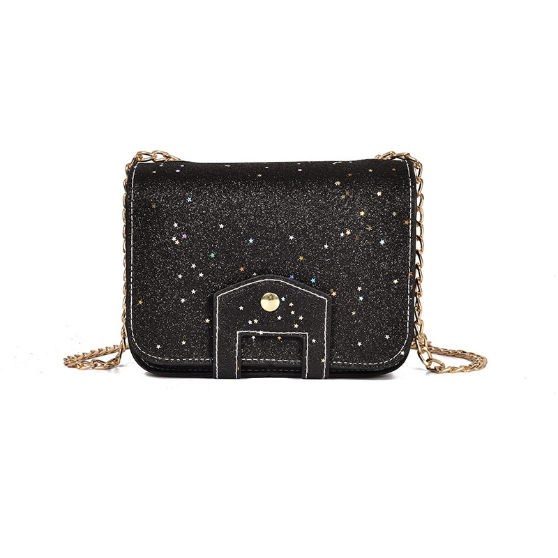 Ericdress Plain Chain Mini Crossbody Bag