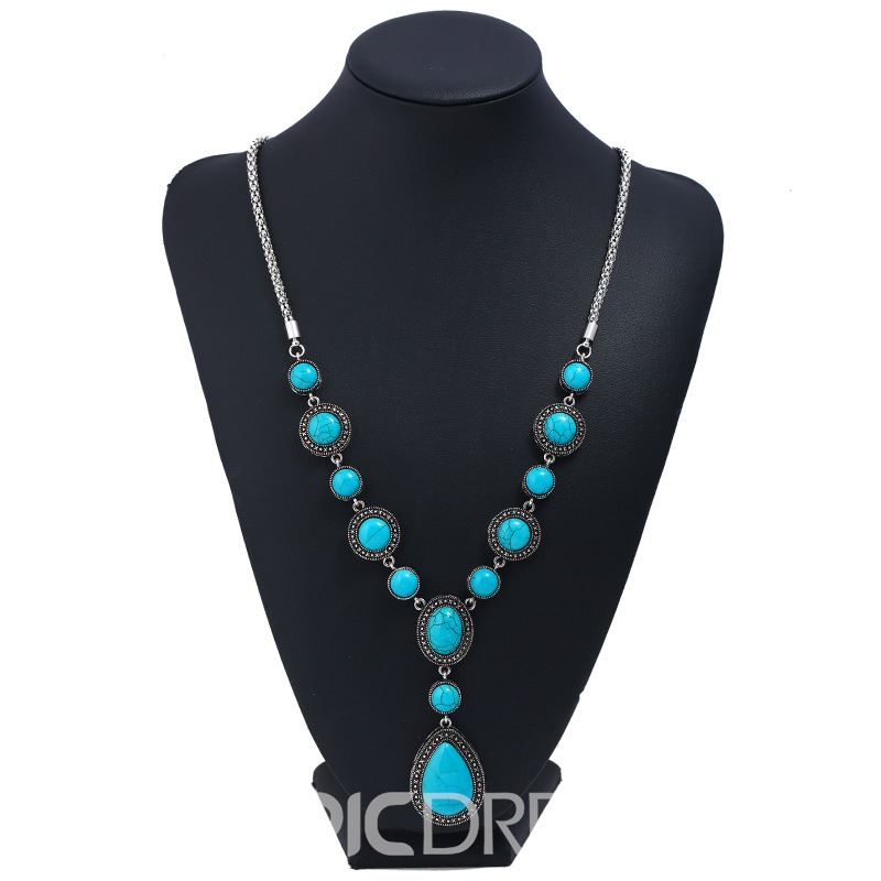 Ericdress Bohemia Style Long Necklace