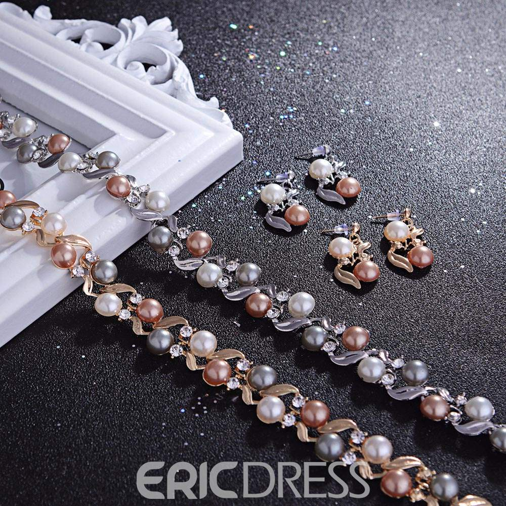 Ericdress Best Selling Imitation Pearl Jewelry Set