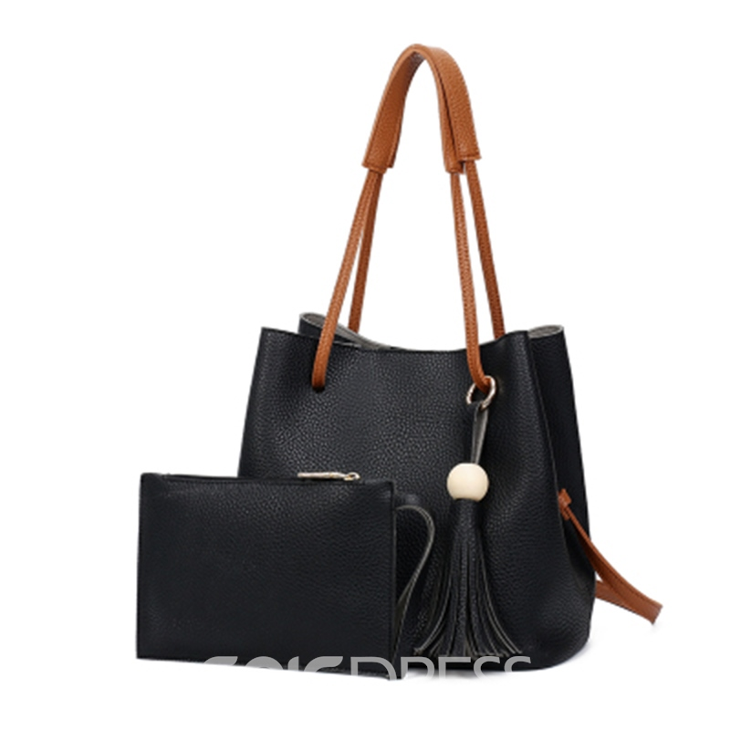 Ericdress Casual Plain Women Handbag ( Two Bag Set)
