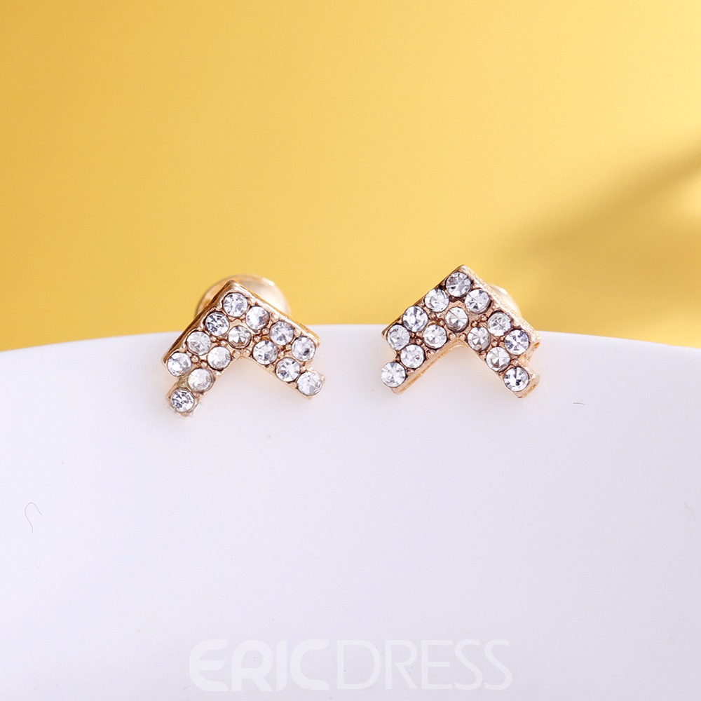 Ericdress Star Diamante Stud for Women
