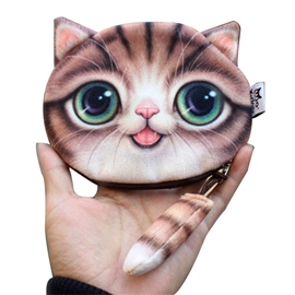 ericdress 3d Kitty Form Mini Brieftasche