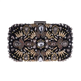 Ericdress Luxurious Beads Decoration Clutch