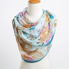 Ericdress Thin Printed Scarf for Women