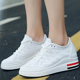 Ericdress Mesh Round Toe Plain Women's Sneakers