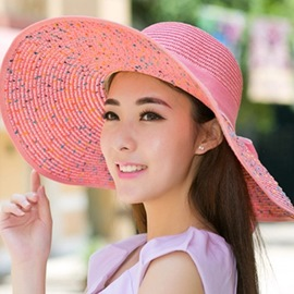Ericdress Foldable Big Sunhat for Holiday