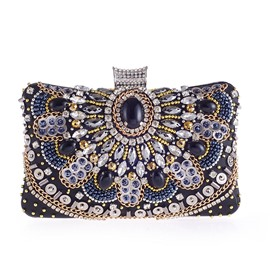 Ericdress Handmade Beading Decoration Women Clutch