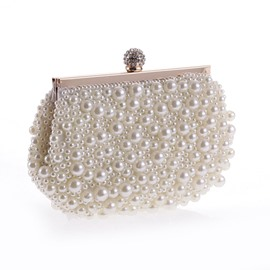 Ericdress Beads Decoration Women Mini Clutch