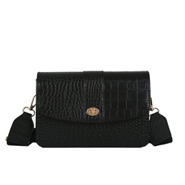 Ericdress Vogue Croco-Embossed Crossbody Bag